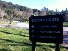 Sign for Canyon Trail