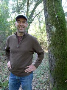 Steve on the Bear Creek Trail in Briones