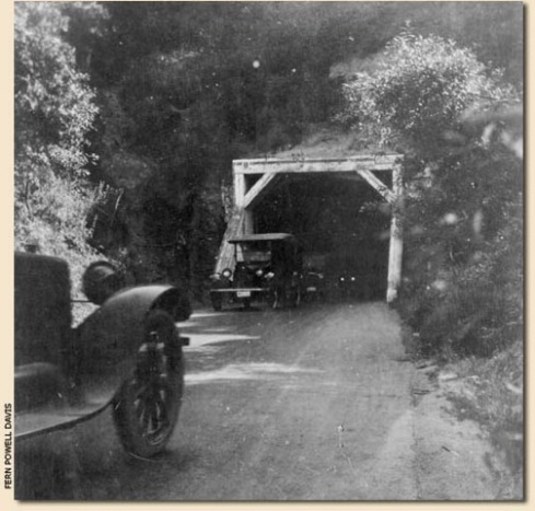 The old Broadway Tunnel was 200 feet above the current Caldecott Tunnel