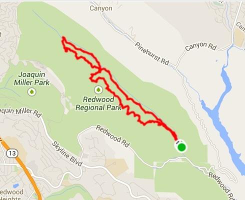 Redwood-Map