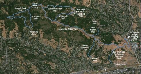 Lafayette Ridge Feeder Map Med